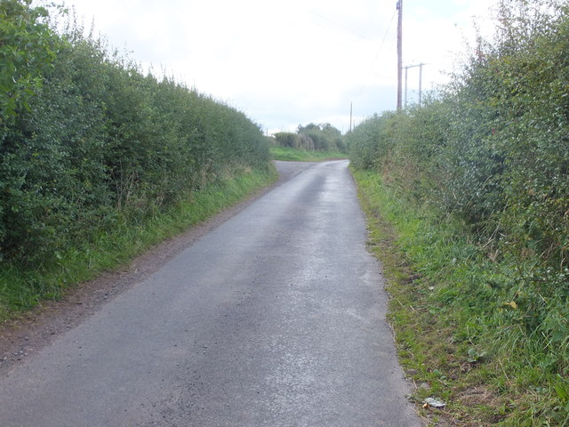 Minor road to the southwest of Eyemouth