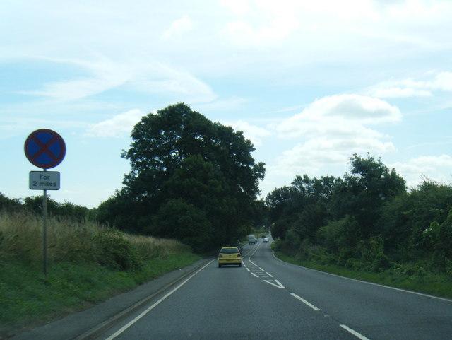 A158 east of Hagworthingham