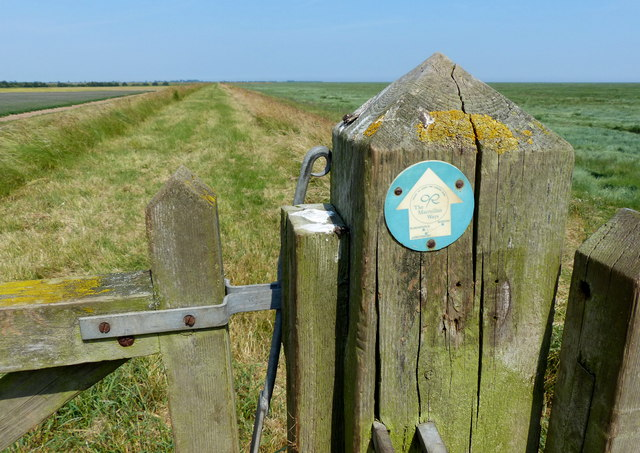 The Macmillan Way footpath marker