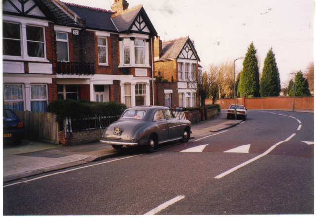 Wolseley 15/50 on Longstone Avenue, Willesden 1998