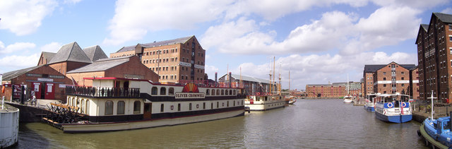Gloucester historic docks