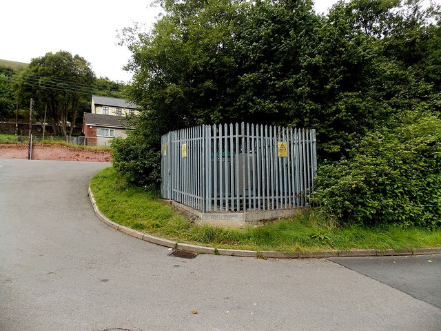 Electricity substation in West Side Blaina