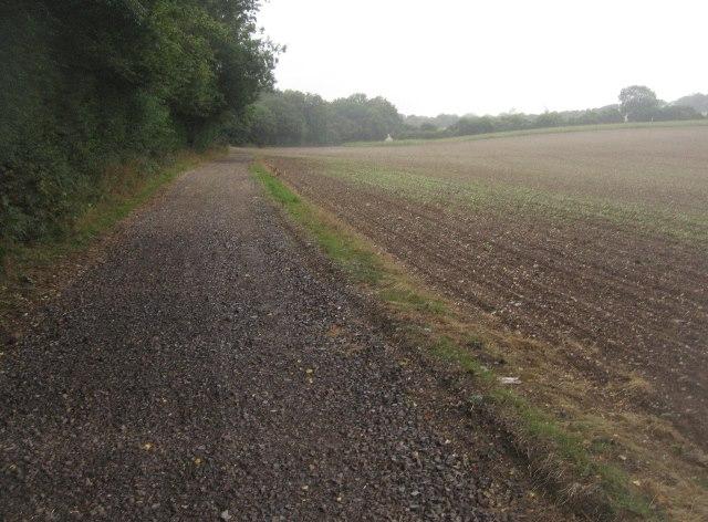 Footpath & farm track