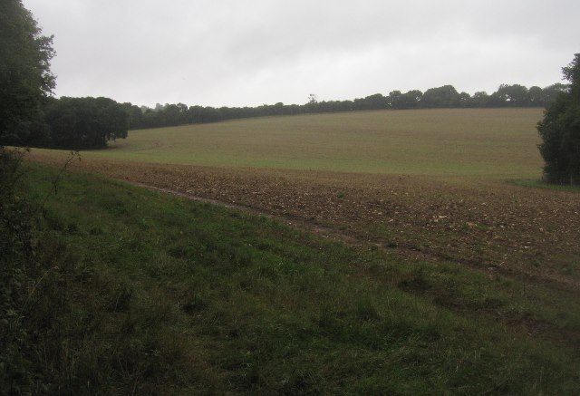 Farmland south of Hannington