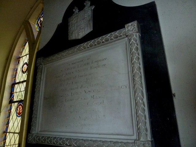 Combe Hay Church: memorial (7)