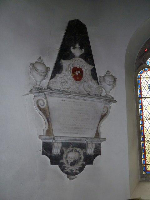 Combe Hay Church: memorial (10)