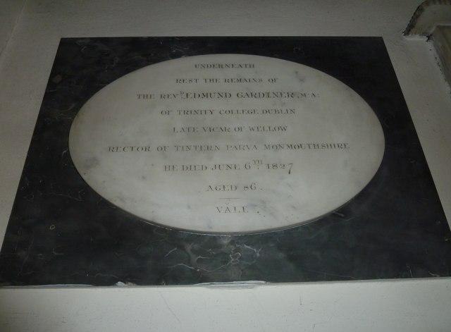 Combe Hay Church: memorial (14)