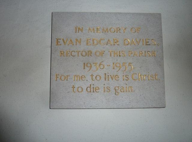 Combe Hay Church: memorial (15)