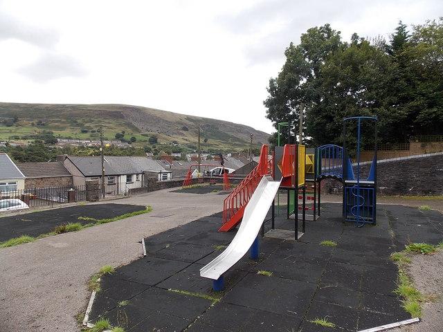 Children's play area, West Side, Blaina