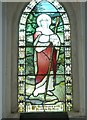 ST7359 : Combe Hay Church: stained glass window (iv) by Basher Eyre