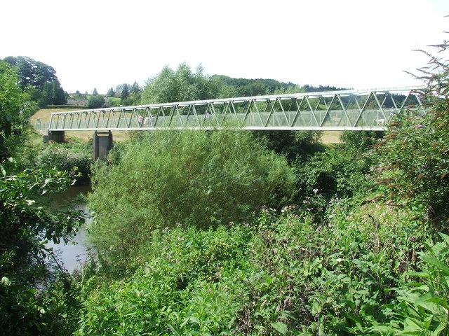 Footbridge over the River Severn
