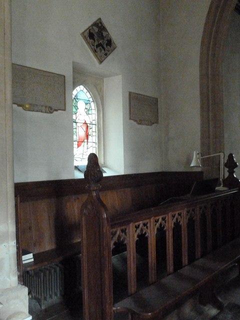Inside Combe Hay Church (B)