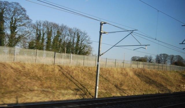 Railway cutting, Nether Stowe