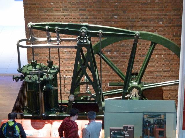 The Science Museum - J & E Hall beam engine