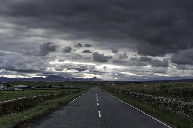 A99 - looking towards Morvern