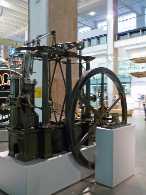 The Science Museum - six column, independent beam engine