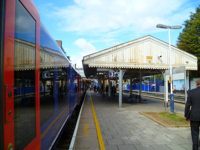 Platform 3 on Putney station