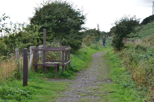 Old railway line, Lower Largo