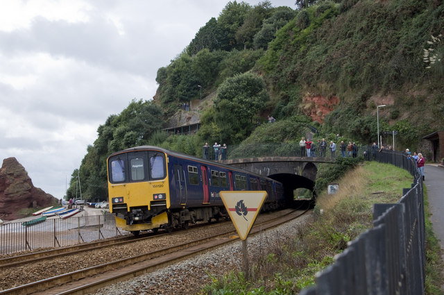 Railway at Dawlish