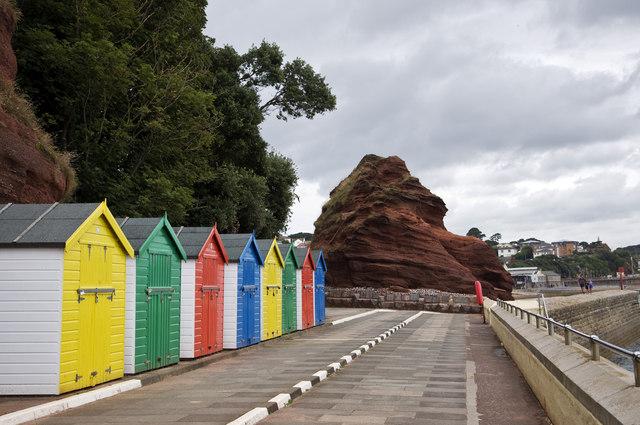 Beach Huts at Dawlish