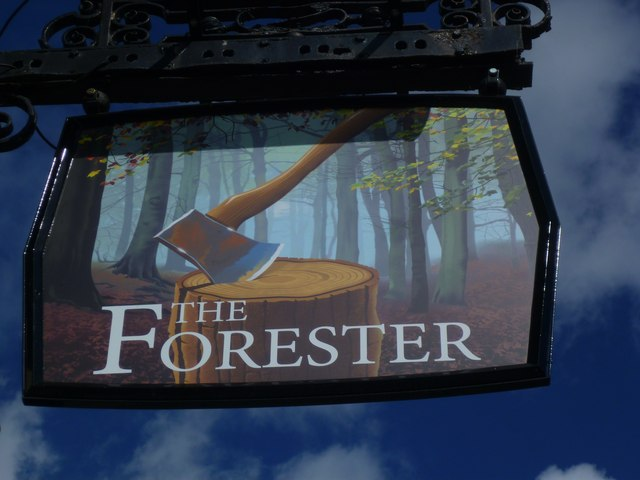 "Sign at ""The Forester"" PH"