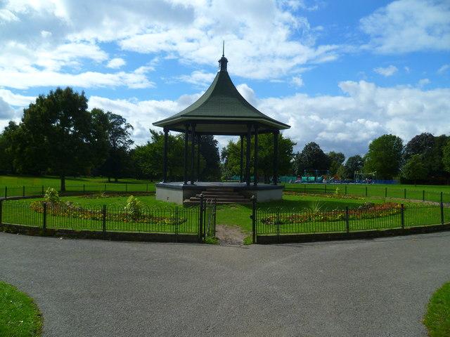 The bandstand in Elthorne Park