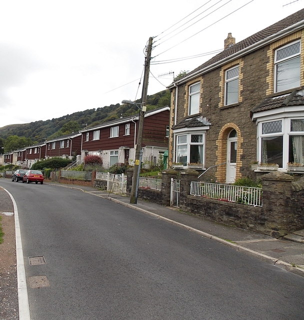 From Victoria Street to Glan Ebbw, Blaina