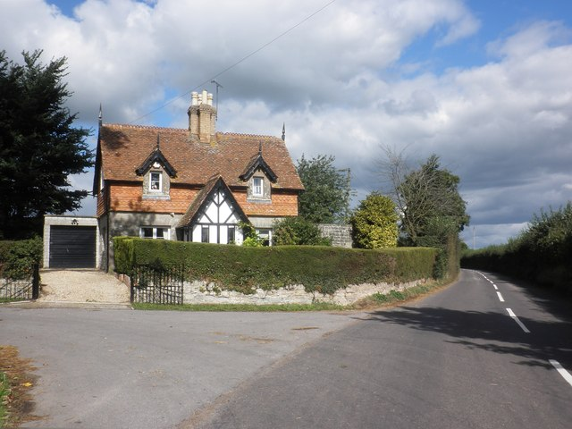 Lodge House at the entrance to Moredon