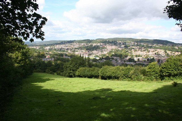 View towards Matlock