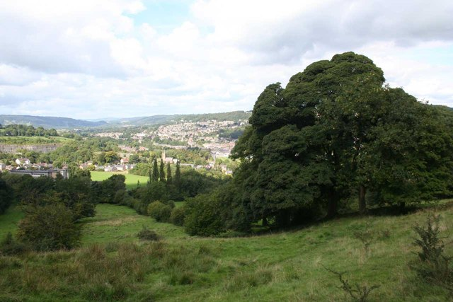 View over Matlock