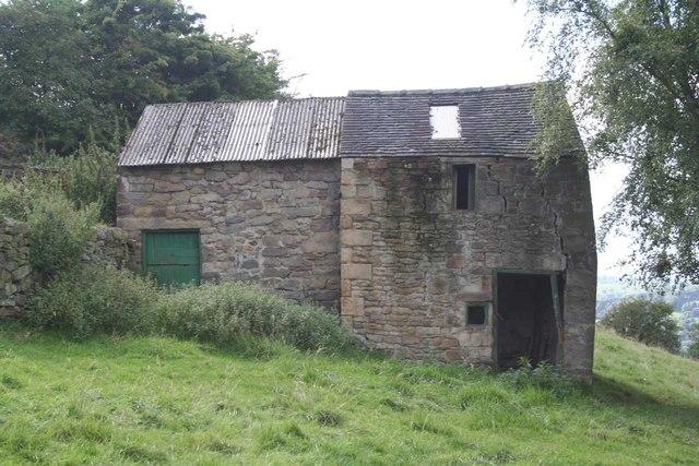 Barn near Riber