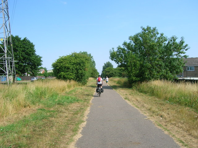 King's Lynn to Sandringham cycle path in North Lynn