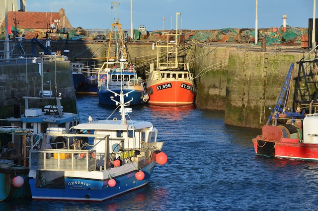Fishing boats, Pittenweem Harbour