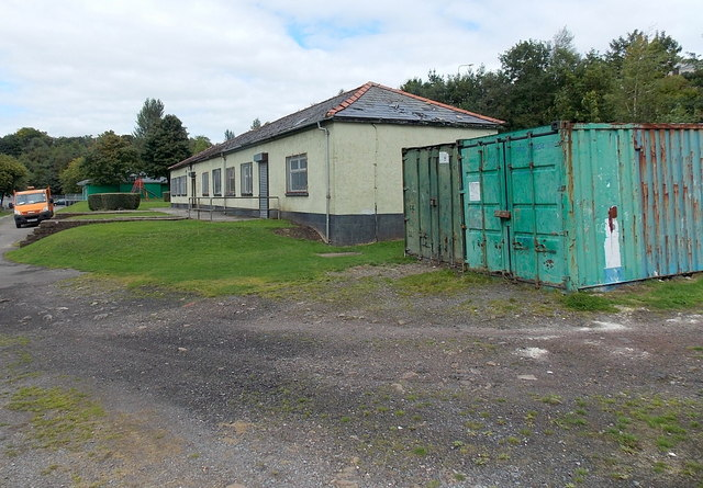 Changing rooms building in Duffryn Park, Blaina