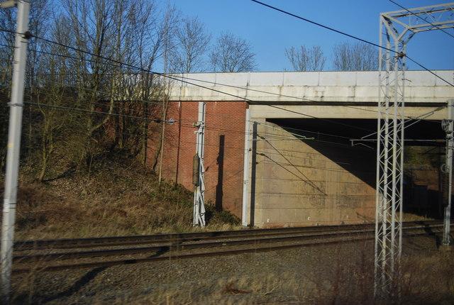 A51 bridge over the WCML