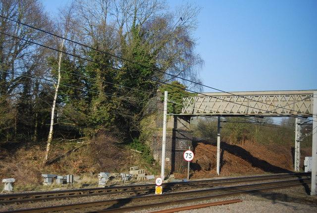 Footbridge over the WCML