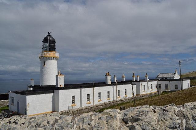 Dunnet Head Lighthouse and Outbuildings, Dunnet Head Peninsula, Caithness