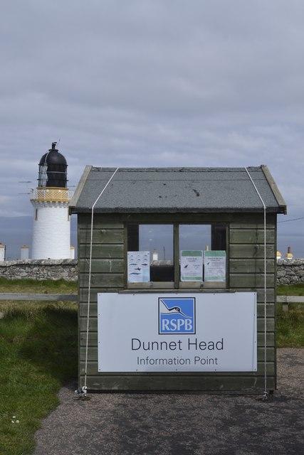 RSPB Dunnet Head Information Point (and Lighthouse), Dunnet Head Peninsula, Caithness