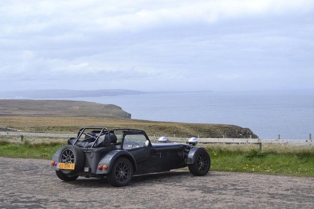 Car Park with a View, Dunnet Head Peninsula, Caithness