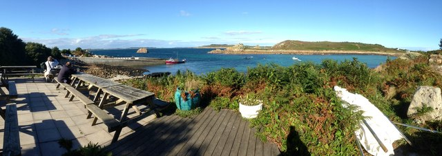 A panorama from the Turk's Head