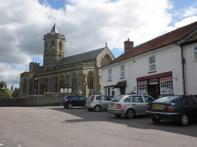 Village centre, Stoke St Gregory