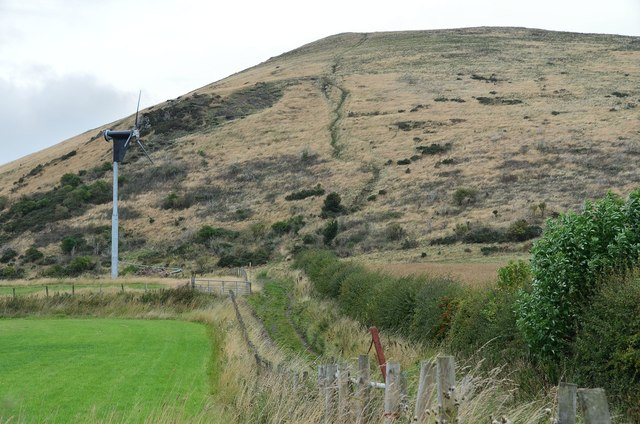 Largo Law south face