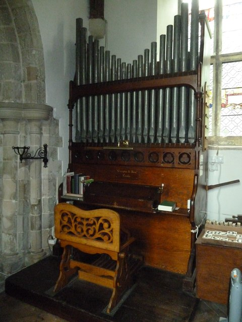 St Augustine of Canterbury, Upton Lovell: organ