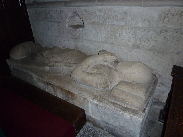 St Augustine of Canterbury, Upton Lovell: tomb memorial