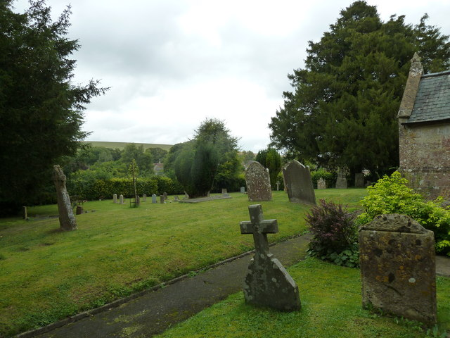 St Augustine of Canterbury, Upton Lovell: churchyard