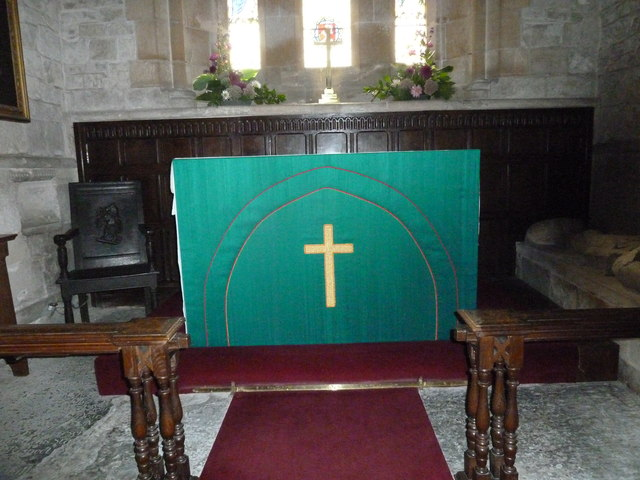 St Augustine of Canterbury, Upton Lovell: altar