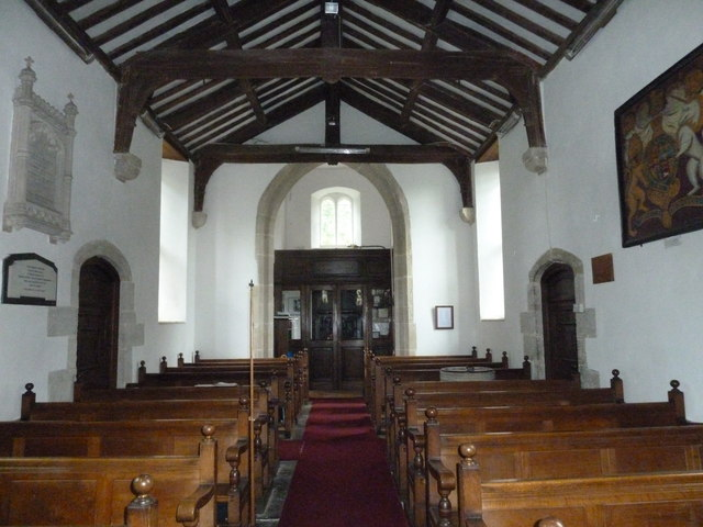 Inside St Augustine of Canterbury, Upton Lovell (A)