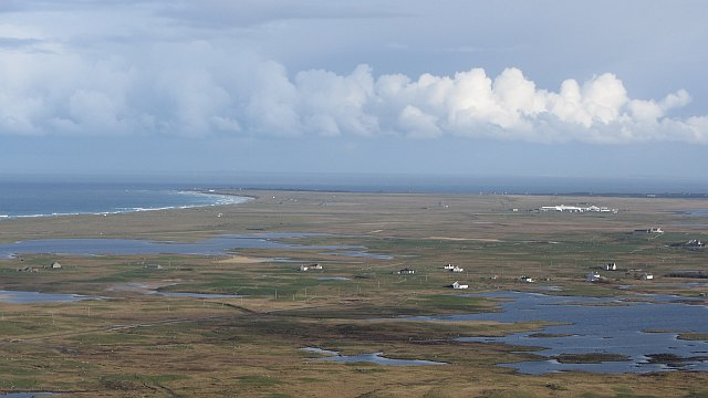 Loch Druidibeag and the northern machair of South Uist