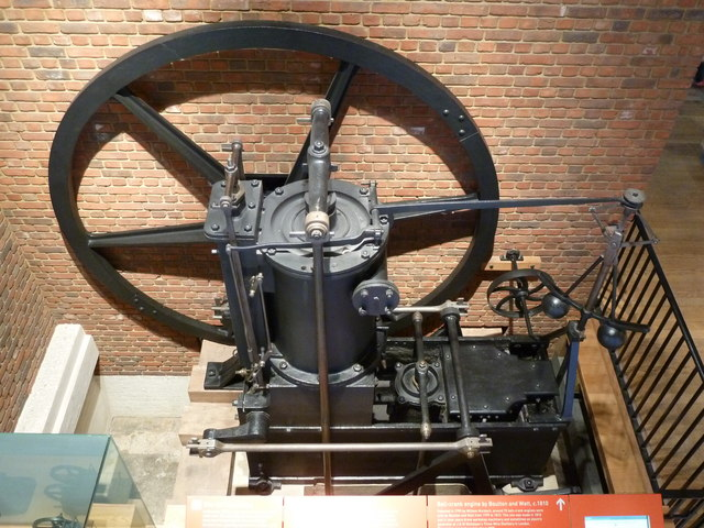 Science Museum - bell-crank engine