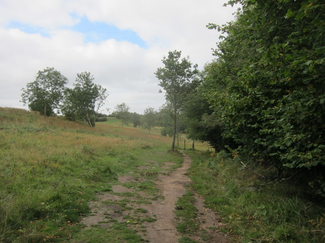 Footpath to the South of Cheddar Gorge